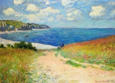 Eurographics Jigsaw Puzzles - Monet: Path Through the Wheat Fields