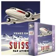 Eurographics Jigsaw Puzzles - Come to Switzerland by Plane