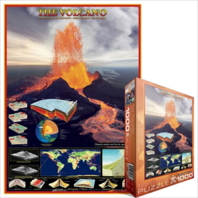 Eurographics Jigsaw Puzzles - The Volcano