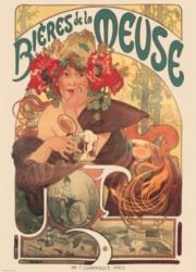 Eurographics Jigsaw Puzzles - Mucha: Bieres de la Meuse