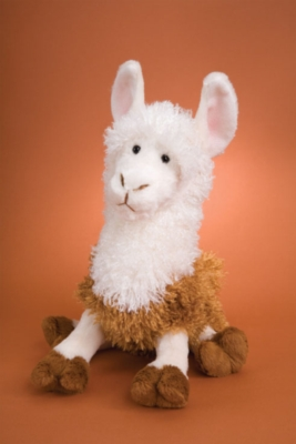 Jasper - 14'' Llama By Douglas Cuddle Toy