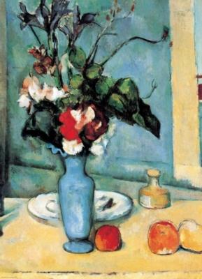 Eurographics Jigsaw Puzzles - Cezanne: Blue Vase