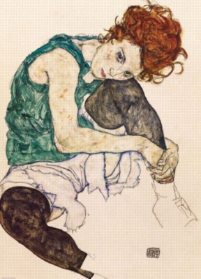 Eurographics Jigsaw Puzzles - Schiele: The Artist's Wife