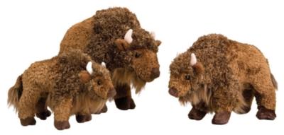 Nickel Nugget - 7'' Buffalo By Douglas Cuddle Toy