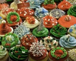 Christmas Puzzles - Christmas Cupcake