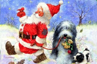 Jigsaw Puzzles - Santa's Best Friend