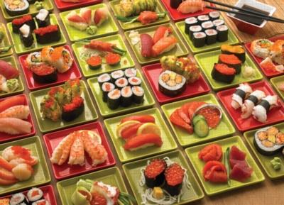Cobble Hill Jigsaw Puzzles - Sushi, Sushi, Sushi