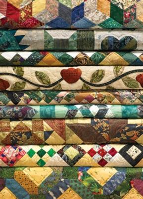 Cobble Hill Jigsaw Puzzles - Grandma's Quilts