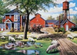 Cobble Hill Jigsaw Puzzles - Farmyard Companions