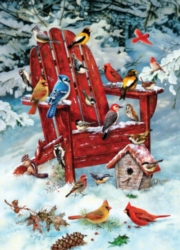Cobble Hill Jigsaw Puzzles - Adirondack Birds