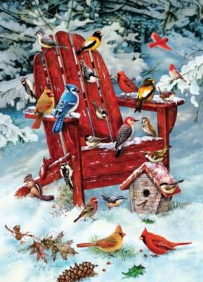 Cobble Hill Jigsaw Puzzles - Adirondack Birds