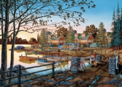 Cobble Hill Jigsaw Puzzles - Away From it All
