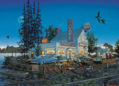 Cobble Hill Jigsaw Puzzles - Bait and Breakfast