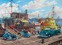 Cobble Hill Jigsaw Puzzles - Home Spit Harbor