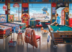Cobble Hill Jigsaw Puzzles - Billiards Restaurant