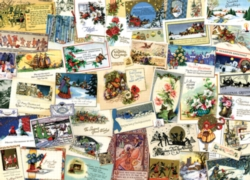 Cobble Hill Jigsaw Puzzles - Victorian Greeting Cards