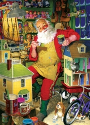 Cobble Hill Jigsaw Puzzles - Santa's Workshop