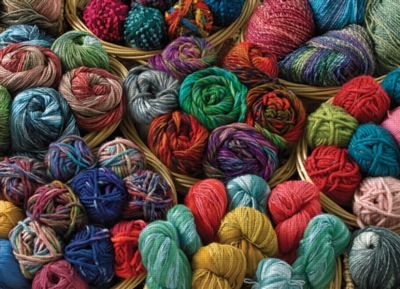Cobble Hill Jigsaw Puzzles - Balls of Yarn