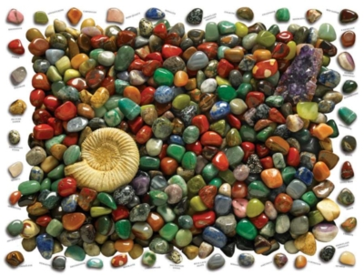 Cobble Hill Jigsaw Puzzles - Rock Collection