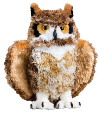 "Wise Guy - 10"" Owl By Douglas Cuddle Toy"