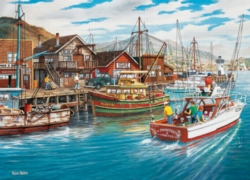 Cobble Hill Jigsaw Puzzles - Fishing Harbor