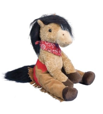 "Poke - 7.5"" Cowhorse By Douglas Cuddle Toy"