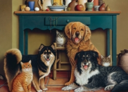 Cobble Hill Jigsaw Puzzles - Family Portrait