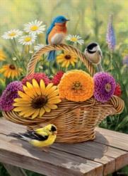 Cobble Hill Jigsaw Puzzles - Summer Bouquet