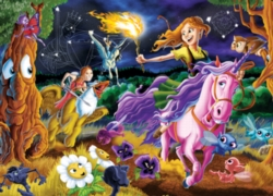 Cobble Hill Children's Puzzles - Mystical World