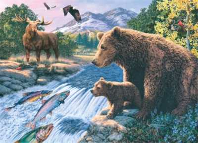 Jigsaw Puzzles - Hidden Images: Into the Wild