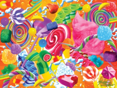Jigsaw Puzzles - Extreme Color: Bright Delight