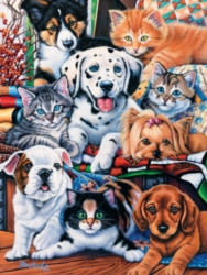 Jigsaw Puzzles - Hide and Seek