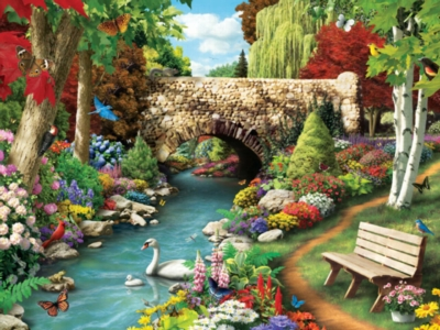 Jigsaw Puzzles - Willow Whispers