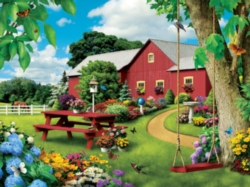 Jigsaw Puzzles - Picnic Paradise