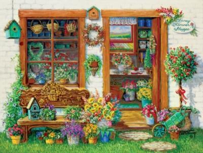 Jigsaw Puzzles - Fancy Flower Shoppe