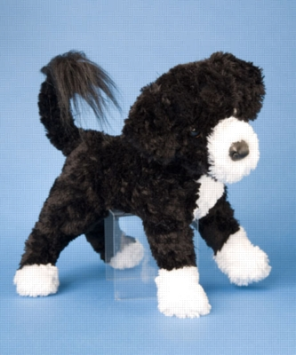 Jose Portuguese Water Dog - 16'' Dog By Douglas Cuddle Toy