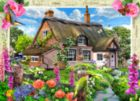 Foxglove Cottage - 1000pc Jigsaw Puzzle by Masterpieces