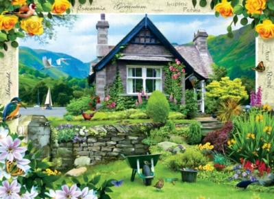 Jigsaw Puzzles - Lakeland Cottage