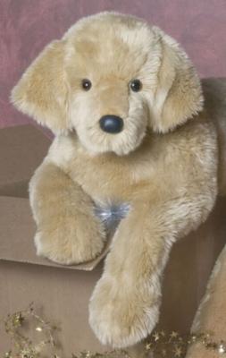 Sherman Golden Retriever - 32'' Dog By Douglas Cuddle Toy