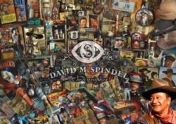 Jigsaw Puzzles - John Wayne: Remembering the Duke