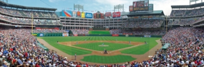 Panoramic Jigsaw Puzzles - Texas Rangers