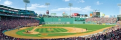 Panoramic Jigsaw Puzzles - Boston Red Sox