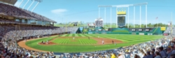 Panoramic Jigsaw Puzzles - Kansas City Royals