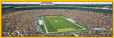Panoramic Jigsaw Puzzles - Green Bay Packers