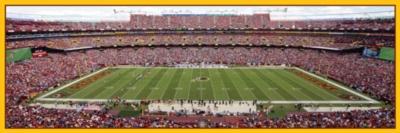 Panoramic Jigsaw Puzzles - Washington Redskins