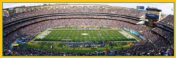 Panoramic Jigsaw Puzzles - San Diego Chargers