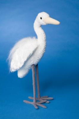 Regal - 15'' Egret By Douglas Cuddle Toy
