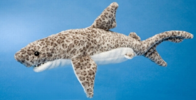 "Titus - 12"" Tiger Shark By Douglas Cuddle Toy"