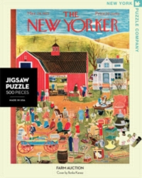 Jigsaw Puzzles - Farm Auction