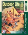 At the Campground - 1000pc Jigsaw Puzzle by New York Puzzle Co.
